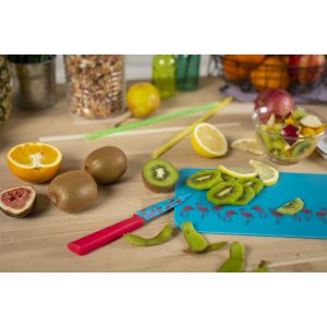 Colori®+ Patterned Paring Knife & Cutting Board