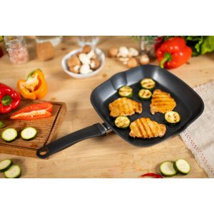 Easy Induction Grill Pan 26 x 26cm