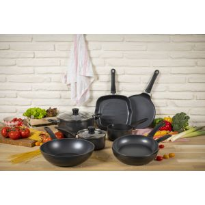 Easy Induction 3pc Cookware & Frying Pan Set