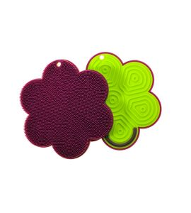 Kochblume Stay Clean Flower Plus Purple/Lime