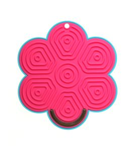 Kochblume Stay Clean Flower Plus Turquoise/Pink