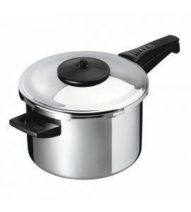 Duromatic Classic Pressure Cooker Long Handle - 22cm 5L