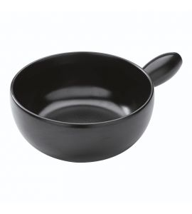Fondue Pot Induction Classic Clay Black 23cm