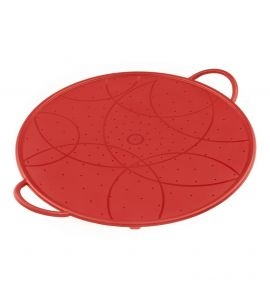 Splatter Guard Silicone Red