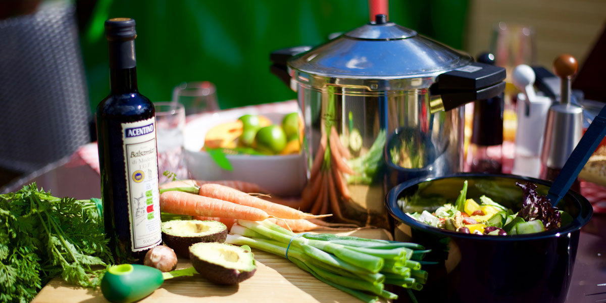 Summer cooking in your pressure cooker