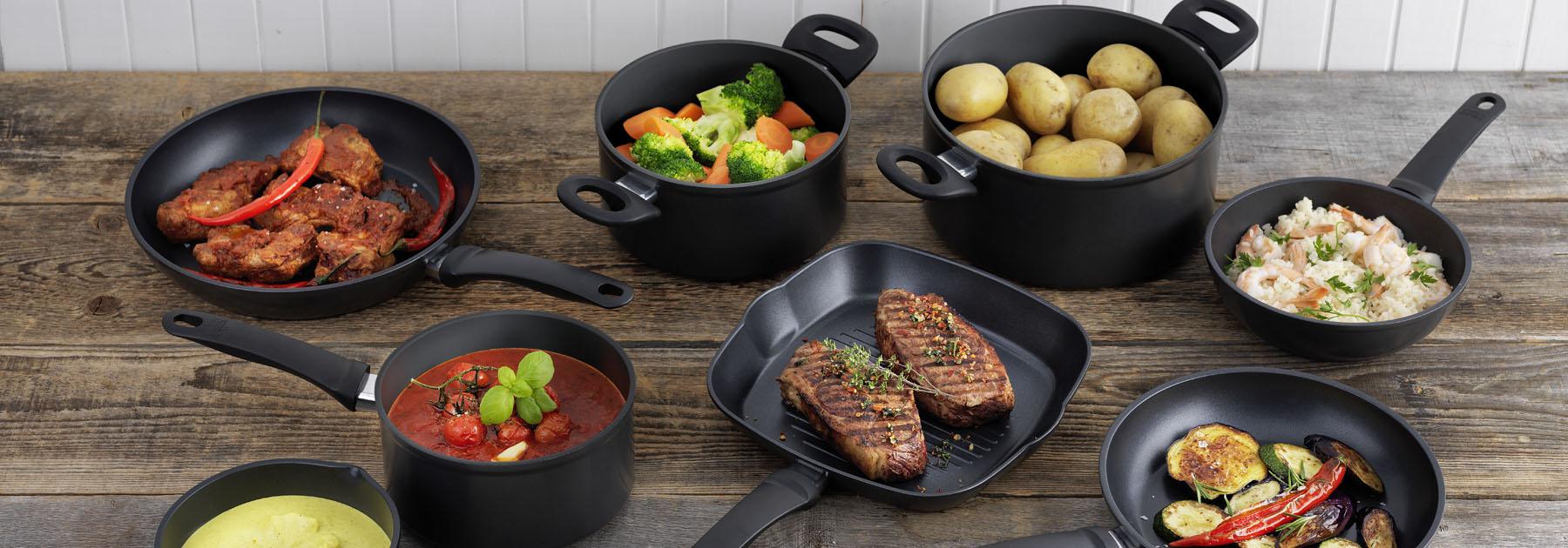 non, stick, saucepans, frying, pans, casseroles, grill, induction, discount, sale, offer