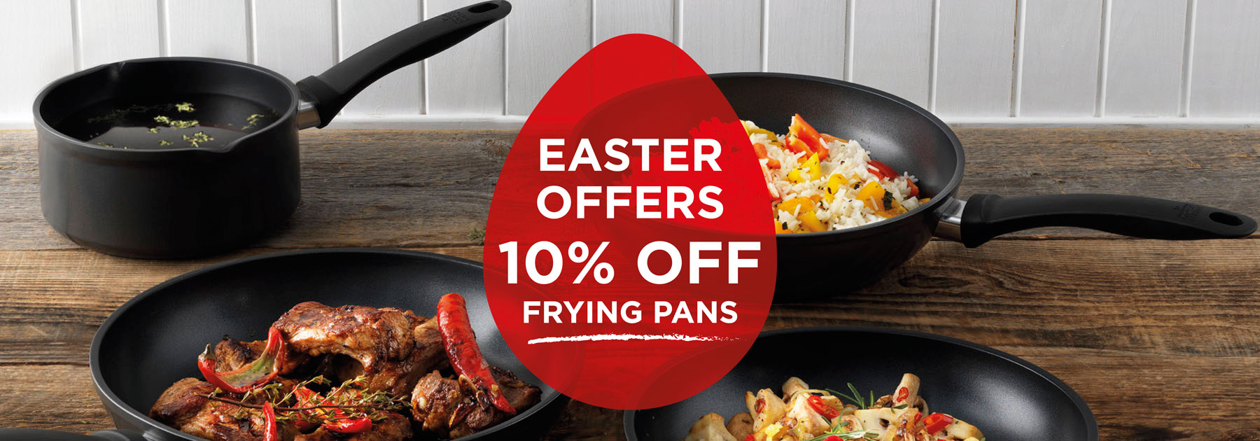 Discount, Easter, Sale, Frying Pans