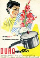 Duromatic 70th anniversary 1955