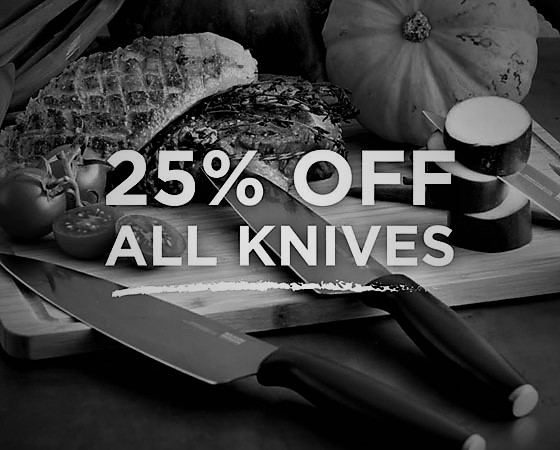 25% OFF Knives