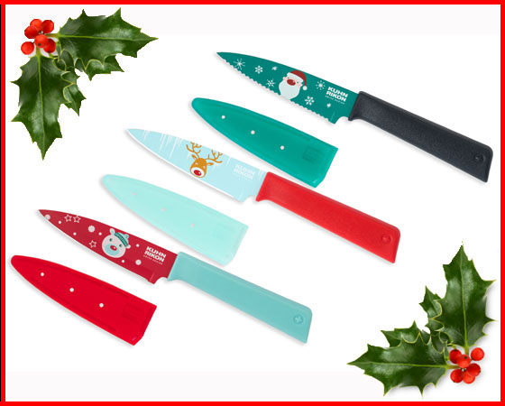 Christmas Knife Set