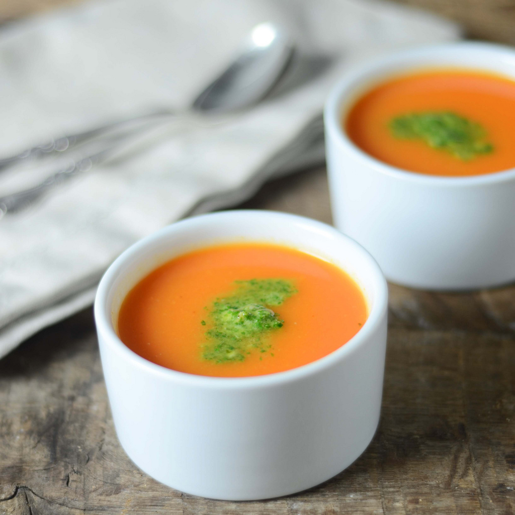CARROT AND CHUTNEY SOUP